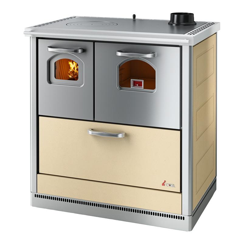 Cucina a legna SMART - Cadel (scarico fumi superiore destro)
